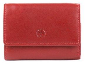 Malá kožená peněženka Tony Perotti, červená