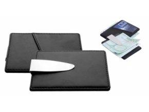 Spona na bankovky v kombinaci s umělou kůží