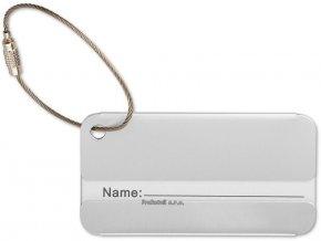 Aluminiová jmenovka na zavazadlo