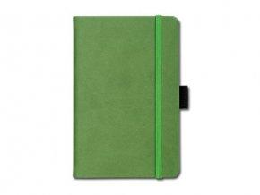 Poznámkový zápisník A5 Ivory, zelený