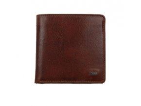 Pánská kožená peněženka UNIKO 208401 - Hnědá