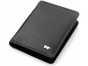 Braun Büffel kožené pouzdro na kreditní karty, černé 92446